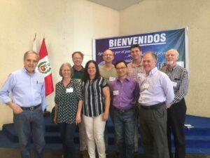 2018. Parte del equipo de SEAN Costa Rica con hermanos de SEAN internacional. Congreso internacional SEAN, Lima, Perú.